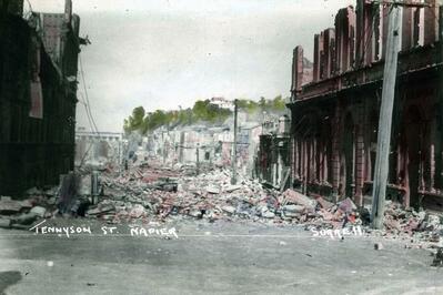 Hawke's Bay earthquake photos