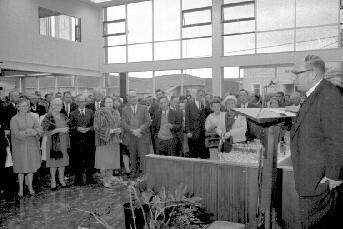 Hastings Mayor, Mr R. V. Giorgi, opens Baillie Motors' new building complex