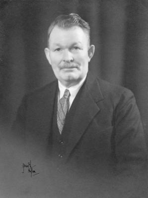 Portrait of W G Jarvis