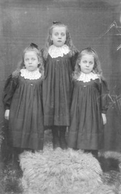 Portrait of Amy, Clemantino and Lena Neal