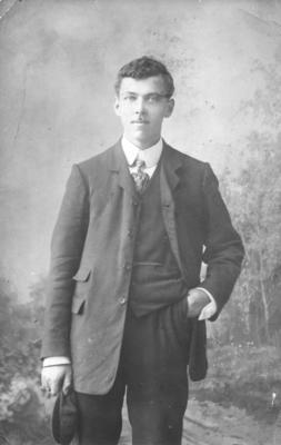 Portrait of R G Rossiter
