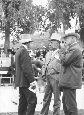Portrait of John Vigor Brown and W McKinnon; Sorrell, Charles Hudson Cunningham