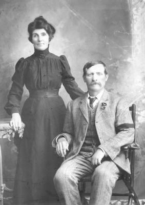 Portrait of Dennis and Matilda Murphy