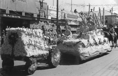 Country Queen float, Queen Carnival Campaign
