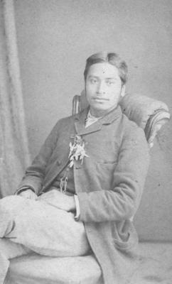 A portrait of Weteni Te Kooti Rikirangi