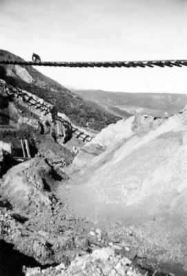 Construction of the East Coast railway line