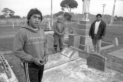 David, Dean and David Whare Jnr, Petane Cemetery, Bay View