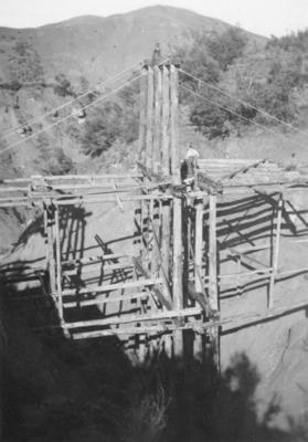 A railway bridge on the East Coast railway line