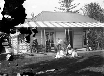 Hitchman house, Milton Terrace, Napier