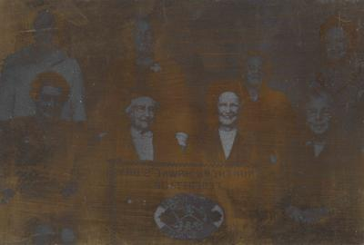 Printing block, Federation Presidents and Members who have served Dominion Executive