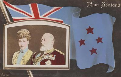Postcard, King Edward VII and Queen Alexandra