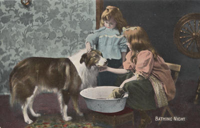 Postcard, addressed to Wilfred Harding