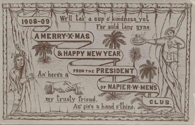 Postcard, addressed to Mr T W Bear