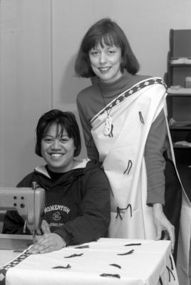 Cloaks and Skirts to Tomakomai, Elizabeth Dick and Barbara Hiha