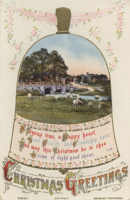 Postcard, to Mr Harding; J Beagles & Co., Ltd; Gibb, R C