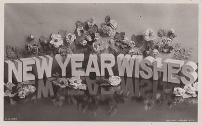 Postcard, to Mrs W A Harding