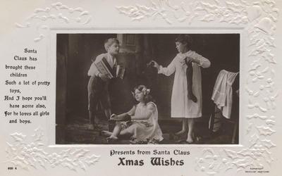 Postcard, to Wilfred Harding; J Beagles & Co., Ltd