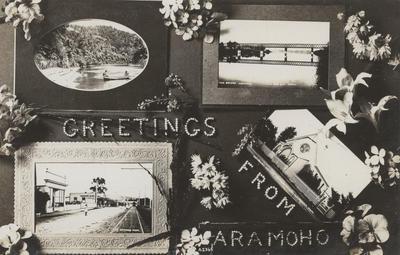 Postcard, Greetings from Aramoho