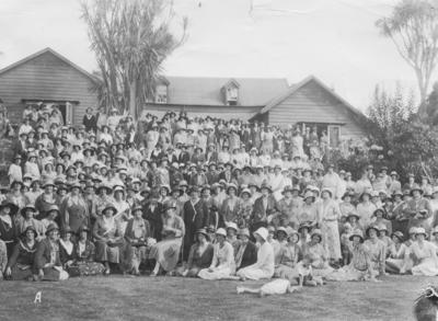 Group portrait, Country Women's Institute
