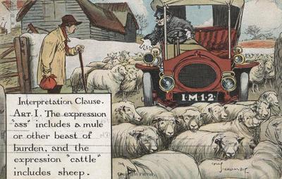 Postcard, Interpretation Clause