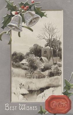 Postcard, Best Wishes Christmas; Edmonds, A; Davidson Bros