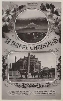 Postcard, Happy Christmas