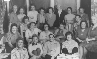 Group portrait, Rissington Country Women's Institute; Batchelor's Camera House