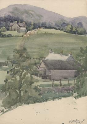 Untitled - farm land; Malden, Gwen