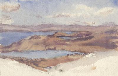 Untitled - unidentified shoreline; Malden, Gwen