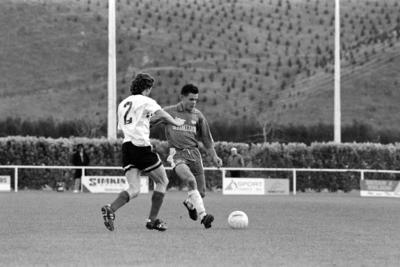 Jason New, Soccer, Napier