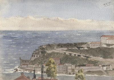 Untitled - seaside town