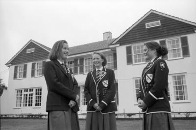 Kirsty Gibson, Katy Ewer and Caroline Rees, Hodge House, Woodford House, Havelock North