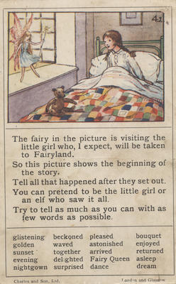 Teaching card, Fairyland