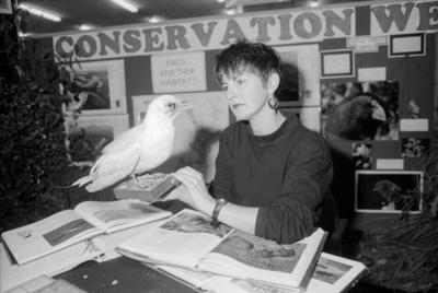 Adriane McDonald, Conservation Week, Hawke's Bay Polytechnic, Taradale