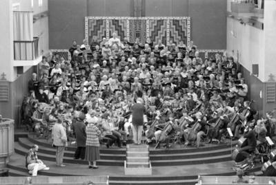 Massed Choir, St John's Cathedral, Napier