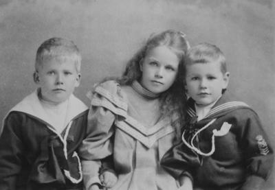Portrait, unidentified children