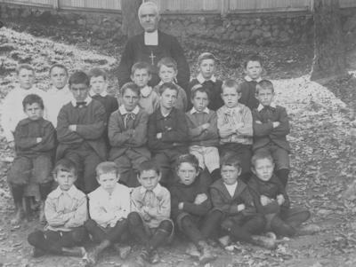Marist Brothers School pupils