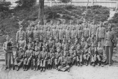 Marist Brothers School military cadets