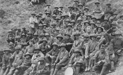 2nd Division Canterbury Infantry Regiment