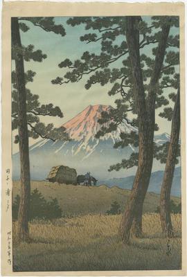 Tagonoura no yū; Kawase, Hasui; Watanabe; 87/39/1