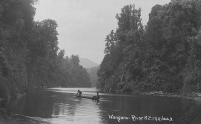 Wanganui River; Radcliffe, Frederick George