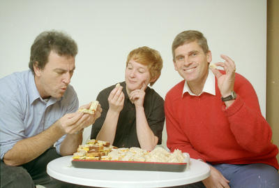Winning Sandwich Recipe, Roger Moroney, Jackie Little and Russell Williamson