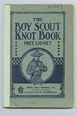 Booklet, The Boy Scout Knot Book