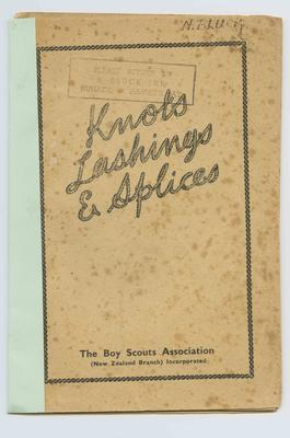 Booklet, Knots, Lashing and Splices