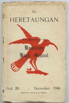 Journal, The Heretaungan, Volume 20