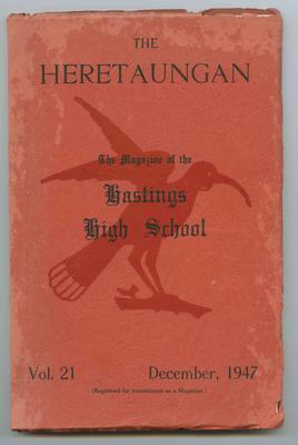 Journal, The Heretaungan, Volume 21