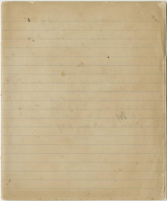 Manuscript, land ownership, sales and notes about stock