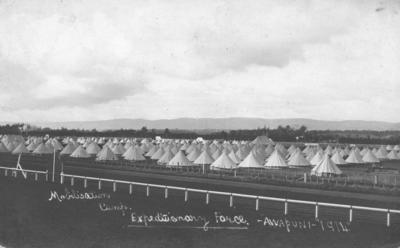 Mobilisation Camp, Expeditionary Force, Awapuni