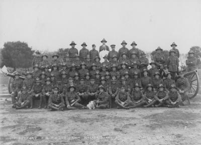 F Battery, New Zealand Field Artillery; Sorrell, Percy Caz