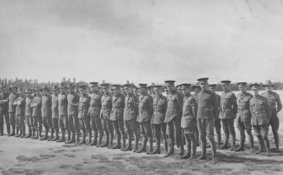 A group of New Zealand soldiers